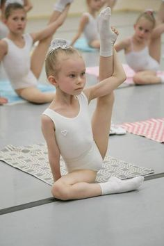 An unflinching dedication and focus, this little ballet-bug has her heart set on perfection.