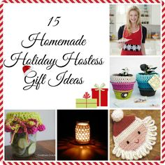 Our popular free crochet patterns on pinterest for Ideas for hostess gifts for dinner party