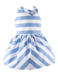 Striped dress from Pili Carrera, nautical style