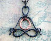 "Little Yogi - ""Heart-Space-Portal"" - yoga jewelry - yoga -  zen - men - meditation - love - lotus - gyan mudra - sacred geometry -Lemurian"