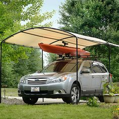 Caravan Canopy Domain Carport (10' x 20') | Overstock.com Shopping - The Best Deals on Tents & Outdoor Canopies