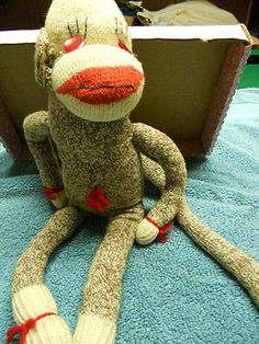 Vintage Sock Monkey | eBay