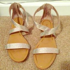 Enzo Angiolini Sandals Enzo Angiolini Sandals size 8.5. I only wore them once at my wedding.Trying to pay of student loans Enzo Angiolini  Shoes Sandals