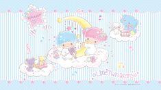 Little Twin Stars Wallpaper 2019 十二月桌布 日本官方電子報 Sanrio Wallpaper, Star Wallpaper, Kawaii Wallpaper, Little Twin Stars, Hello Kitty Images, Star Cloud, Sanrio Characters, Cute Babies, Cute Pictures