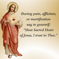 Most Sacred Heart of Jesus, I trust in Thee.  #DaughterofMaryPress #DaughtersofMary #SacredHeart