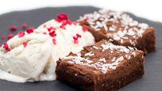FRESH-REFRESH. Cum se prepară o înghețată RAW VEGAN | REALITATEA .NET Krispie Treats, Rice Krispies, Raw Vegan, Fresh, Desserts, Food, Tailgate Desserts, Deserts, Essen