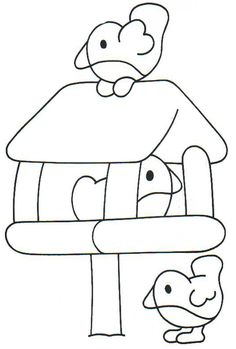 Bird coloring page Bird Coloring Pages, Coloring Sheets, Winter Thema, Anni Downs, Toddler Themes, Bird Theme, Winter Kids, Digi Stamps, In Kindergarten