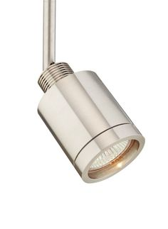 "Tech Lighting 700FJTLM03 FreeJack Tellum 1 Light Halogen Adjustable 3"" Stem Trac Satin Nickel Indoor Lighting Track Lighting Heads"