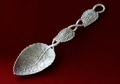 The Naturalistic Spoon is a spesific type of spoon having a leaf-shaped bowl or stem which reflects Rococo interest in precisely imitated natural forms, created by Huguenor silversmiths aroud 1730s. The Naturalistic spoon was revived and re-created through the history - Rococo revival in 1830s, Jponisme and Art Nouveau. The Naturalistic Spoon tells you very interesting history relating to silver, silversmith, tea, society and design.