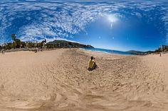 Playa Chica de Papudo en Papudo, Valparaíso