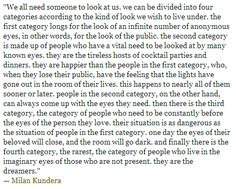 Milan Kundera (The Unbearable Lightness of Being)