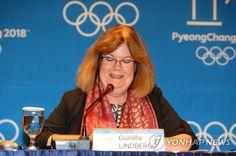 린드베리 IOC 조정위원장 평창올림픽 대성공 확신 - 연합뉴스