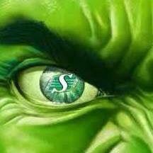 Hulk smash em all Go Rider, Saskatchewan Roughriders, Saskatchewan Canada, Hulk Smash, Green, Pride, Sports, Hs Sports, Sport
