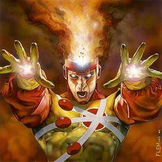 Firestorm by Tom Fleming  Download at nomoremutants-com.tumblr.com  #comicbooks #comicbooks #dccomics  #batman #DamianWayne #joker #gotham #robin #redhood #batmanbeyond #superman #harleyquinn #batgirl #deathstroke #SuicideSquad #dkr #DK3 #wonderwoman #catwoman #katana  #bvs #thekillingjoke #batmanvsuperman #JusticeLeague #injustice2 #nightwing #deadshot #batmantheanimatedseries #flash