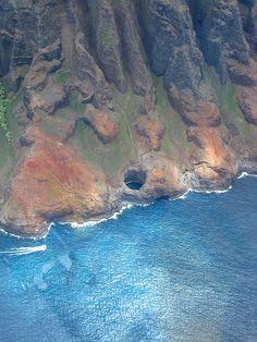 Kauai the blue hole