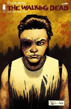 Capa da Edição #137 de The Walking Dead
