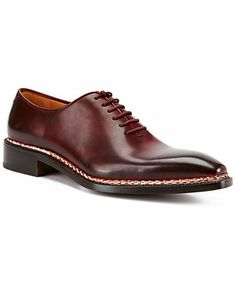 """$1,979.00?!? Really? I'd be afraid to walk in them. // Caporicci """"Norwegian"""" Leather Oxford"""