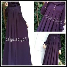 Pleated cilbab😍EN SOLD COLORS - Button snap fastener or zipper 🤐 made by request 🎀 Payment transferable 🎀 🎀 black navy blue green purple mink mink and 20 colors için For Information and Order 🎀 whatsap 05385161787 # islamitesettur Abaya Fashion, Muslim Fashion, Modest Fashion, Fashion Dresses, Hijab Evening Dress, Evening Dresses, Mode Abaya, Modele Hijab, Abaya Designs