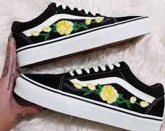 chaussures vans femmes jaune
