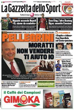 La Gazzetta dello Sport (02-08-13) Italian | True PDF | 40 12 pages | 10,19 4,19 Mb