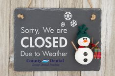 Due to inclement weather, Dutchess County Dental is closed. If you had a scheduled appointment, our office will contact you soon to reschedule. If you have any questions, please contact Dutchess County Dental at (845) 437-4380, and we will get back to you at our earliest convenience.     Stay safe and thank you for choosing Dutchess County Dental. #WinterStormGrayson #CountyDental #Dentist #WinterStorm #PoughkeepsieNY #NewYork