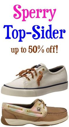 Sperry Top-Sider Shoe Sale!