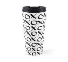 xoxo Black Travel Mug