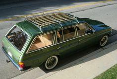 1980 Mercedes diesel wagon.