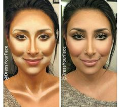 Contouring..if you don't do this yet,try it!I do it all the time and it makes a big difference!!