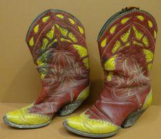 Vintage ladies' cowboy boots