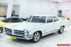 1966 Pontiac Parisienne White Automatic 2sp A Sedan #pontiac #parisienne #forsale #australia