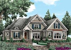 Graystone Park (b) - Home Plans and House Plans by Frank Betz Associates