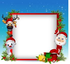 Christmas Frames Free, Christmas Boarders, Christmas Flyer, Christmas Clipart, Christmas Stickers, Christmas Photo Cards, Christmas Design, Christmas Pictures, Christmas Projects