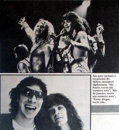 Van Halen ❤️  Love the picture of Alex and Eddie ❤️ 1982