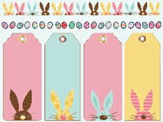 Easter Tag Printables