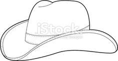 western fondant template | Cowboy Hat Stencil