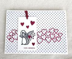 Hey Love, von Herzen Gudrun, Stampin Up, Challenges, Kids Rugs, Cards, Home Decor, Madness, Paper, Cute Kiss
