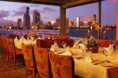 SD's top 25 scenic restaurants -Peohe's Restaurant in Coronado offers a pristine San Diego skyline view.