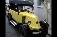 Classic Cars From The Great Gatsby- #3 1925 Renault 6 CV NN