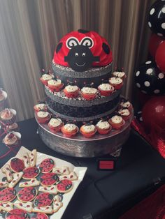 Lady bug bday party