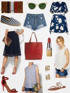 Sense & Sequins: Red White & Blue