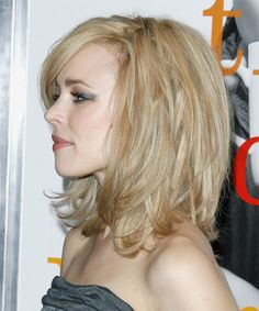 Rachel McAdams -  Hairstyle - side view. This gives many angles of the haircut, plus how to get it to look like this!