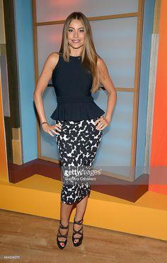 Sofia Vergara is seen on the set of Despierta America at Univision Studios on February 26, 2015 in Miami, Florida.