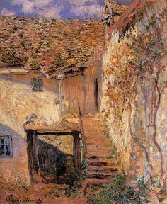 The Steps - Claude Monet