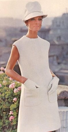 1960's fashion. (Rome, 1968)...I'd give anything to live mid-century