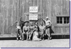 Every summer between 1939 and 1951, Joe and Clara Pilates spent their weekends and several weeks at a stretch relaxing and teaching at Jacob's Pillow, a well-known dance camp in the Berkshire Mountains. #pilates #history