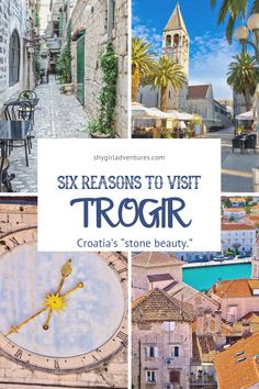 Six Reasons Why You Should Visit Trogir, Croatia - Hawaii Travel, Thailand Travel, Italy Travel, Bangkok Thailand, Japan Travel, Places To Travel, Travel Destinations, Places To Visit, Holiday Destinations