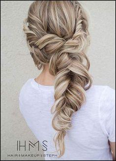 Die besten 25 Frisuren halboffen Ideen auf Pinterest | Abiball ... | Einfache Frisuren