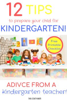 Is your child headed to big-kid school next year? Are you wanting to know what your child should know before starting kindergarten? Check out this post with tips on preparing for kindergarten. Source by mamielpack Ideas school Before Kindergarten, Starting Kindergarten, Kindergarten Curriculum, Starting School, Kindergarten Preparation, Learning Activities, Preschool Activities, Preschool Learning, Fall Preschool