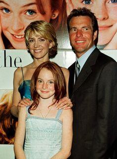 Natasha Richardson, Lindsay Lohan and Dennis Quaid (The Parent Trap) Lindsay Lohan, Parent Trap, Movie Photo, Movie Stars, Movie Tv, Gossip Girl, British Actresses, Actors & Actresses, Grey's Anatomy